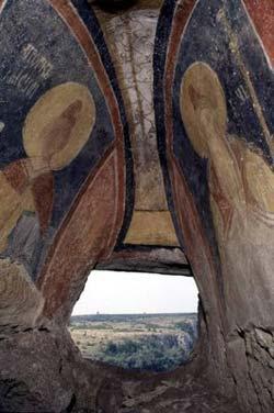 Ивановский скальный монастырь - настенные росписи