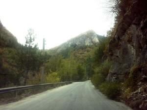 Родопские горы, дорога