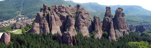 Белоградчик, скалы, Болгария, достопримечательности