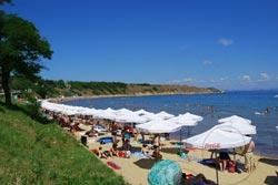 Черноморец - пляж