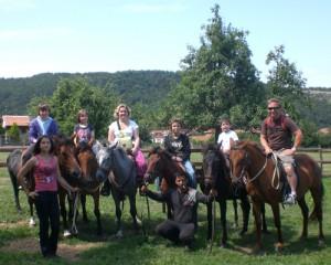 Путешествие верхом на лошади