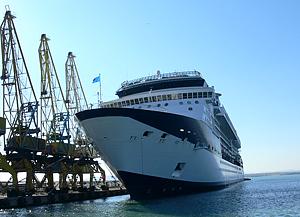 открытие пассажирского порта в Бургасе