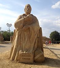 песчаные скульптуры Бургас 2013 - Галилео