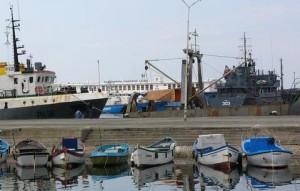модернизация пристани в Черноморце