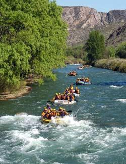 Экстремальный водный туризм в