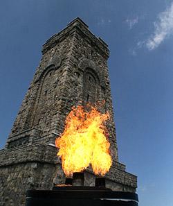 Вечный огонь на Шипке