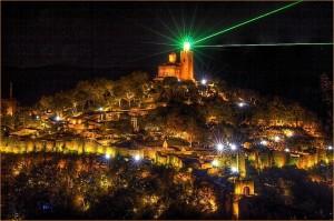 Велико Тырново, Болгария, холм Царевец, аудиовизуальное шоу