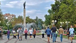 памятник Алеше в Бургасе
