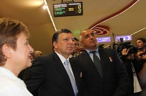 Барозу о вступлении Болгарии в Шенген