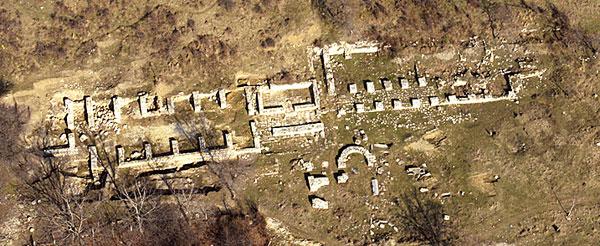 Останки монастыря на острове Святого Ивана
