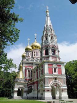 Шипка - храм-памятник Рождества Христова