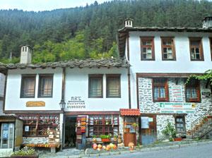 деревушка Широка лыка, Родопи, Болгария