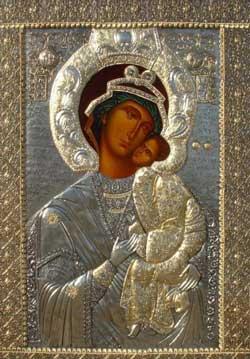 Бачковский монастырь - чудотворная икона с образом Пресвятой Богородицы
