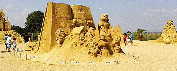 фестиваль песчаных скульптур Бургас 2014