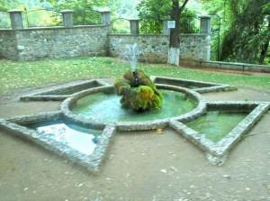 фонтан желаний, Бачковский монастырь, Болгария