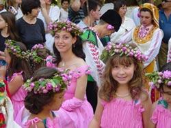 Фестиваль в долине роз - конкурс Королева роз