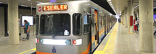 Стамбул метро Ататюрк