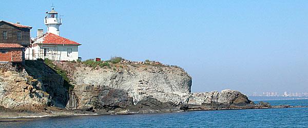 Маяк на острове Святой Анастасии