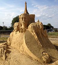 песчаные скульптуры Бургас 2013 - Дали
