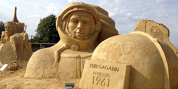 фестиваль песчаных скульптур Бургас 2013