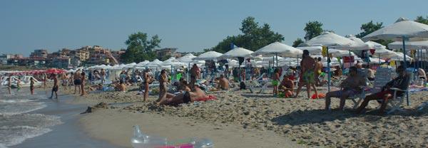 Отдых в Созополе пляж Хармани