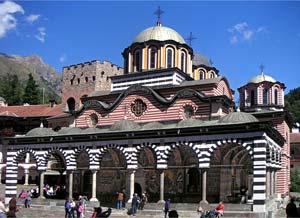 Рильский монастырь - главная церковь Рождества Пресвятой Богородицы