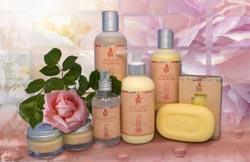 Розовое масло, применение, косметика