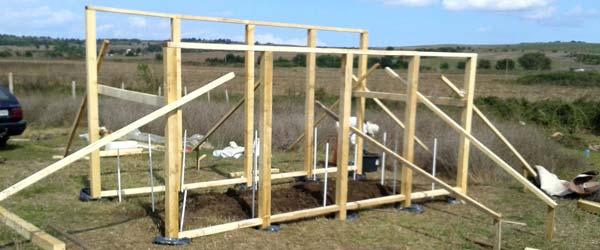 Строительство садового дома своими руками