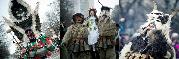 Зимний фестиваль Перник Болгария